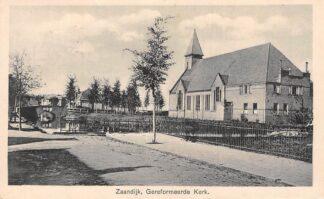 Ansichtkaart Zaandijk Gereformeerde Kerk HC2323