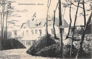 Ansichtkaart Nunspeet 1919 Zusterhulprusthuis Moria HC2344