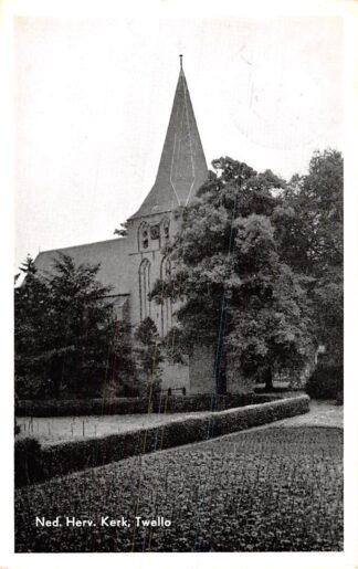 Ansichtkaart Twello Ned. Hervormde Kerk 1956 HC2358