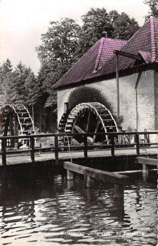 Ansichtkaart Singraven bij Denekamp Uitspanning De Watermolen 1961 Molen HC2359