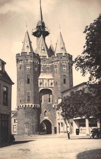 Ansichtkaart Zwolle Fotokaart Gevaert Stadspoort 1947 HC2367