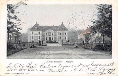 Ansichtkaart Almelo Kasteel Huize Almelo 1902 HC2375