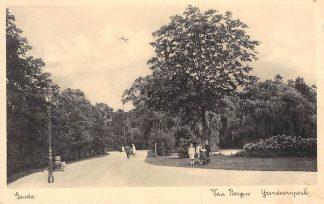 Ansichtkaart Gouda Van Bergen IJzendoorn Park 1938 HC2399