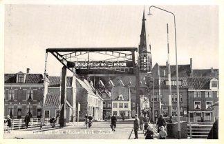 Ansichtkaart Zwolle Vispoortenplas met St. Michaels Kerk 1960 HC2409