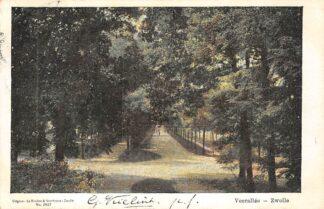 Ansichtkaart Zwolle Veerallee 1904 HC2410