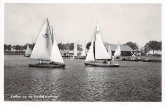 Ansichtkaart Sint Jansklooster Zeilen op de Beulakerwiede 1950 HC2415
