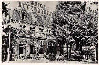 Ansichtkaart De Lutte bij Oldenzaal Hotel Het Zwaantje 1950 HC2422