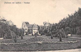 Ansichtkaart Veendam Plantsoen met Raadhuis 1926 HC2434