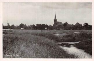 Ansichtkaart Ee Gezicht op Ee met molen en kerk Naast Dokkum 1955 HC2447