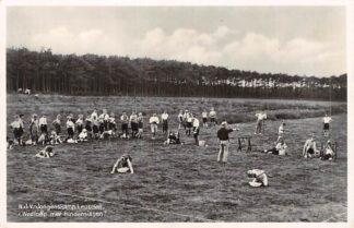 Ansichtkaart Leusden N.J.V.-Jongenskamp Wedloop met hindernissen 1934 HC2462