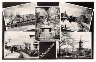 Ansichtkaart Winschoten Molen Monument Boerderij Oldambt Tromplaan Schonfeldplein HC2469