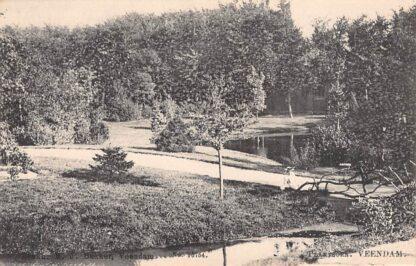 Ansichtkaart Veendam Plantsoen voor 1906 Tulp HC2471