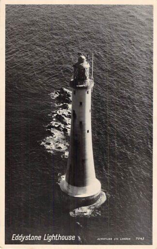 Ansichtkaart Eddystone Lighthouse Vuurtoren Engeland HC2472