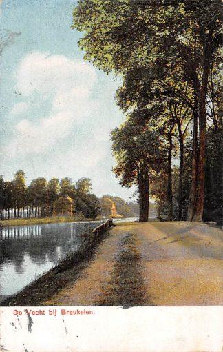 Ansichtkaart Breukelen De Vecht 1905 HC2482