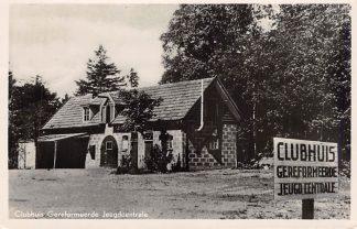 Ansichtkaart Driebergen Clubhuis Gereformeerde Jeugdcentrale 1954 HC2501