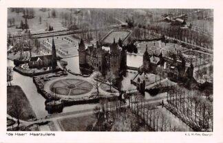 Ansichtkaart Haarzuilens De Haer Kasteel 1929 KLM Luchtfoto 29-266 HC2508