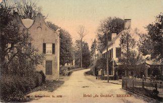 Ansichtkaart Rhenen Hotel de Grebbe Tulp HC2516
