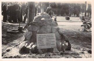 Ansichtkaart Rhenen Militair Begraafplaats Monument 10e Regiment Infanterie 1940 HC2521