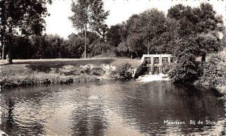 Ansichtkaart Meerssen Bij de Sluis 1962 HC2530