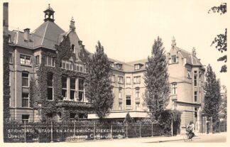 Ansichtkaart Utrecht Stichting Stads- en Academisch Ziekenhuis Ingang Catharijnesingel 1938 HC2541