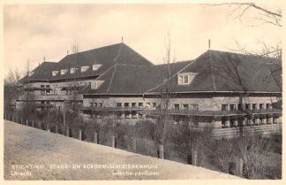 Ansichtkaart Utrecht Stichting Stads- en Academisch Ziekenhuis Infectie-paviljoen 1938 HC2543