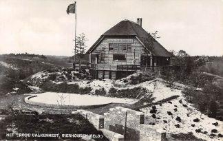 Ansichtkaart Vierhouten Het Rode Valkennest 1934 Jeugdherberg HC2545
