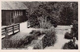 Ansichtkaart Vierhouten Tuin Paasheuvel Jeugdherberg 1949 HC2553