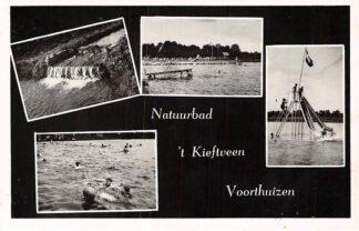 Ansichtkaart Voorthuizen Natuurbad 't Kieftveen Zwembad Landgoed De IJsvogel 1952 HC2556