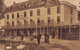 Ansichtkaart Mook Hotel de Plasmolen HC2581