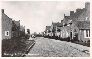 Ansichtkaart Nootdorp Prinses Beatrixstraat 1951 HC2588