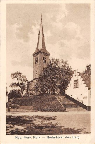 Ansichtkaart Nederhorst den Berg Ned. Hervormde Kerk HC2607