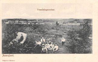 Ansichtkaart Amersfoort Vreemdelingenverkeer Omgeving met Molen HC2613