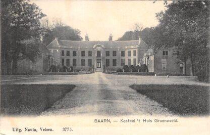 Ansichtkaart Baarn Kasteel 't Huis Groeneveld HC2631