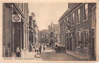 Ansichtkaart Boskoop Dorpsstraat (Oostzijde) HC2635