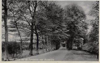 Ansichtkaart Maarn Weg naar Zeist bij de Pyramide van Austerlitz 1934 HC2643
