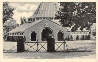 Ansichtkaart Bilthoven Gereformeerde Kerk 1944 HC2651