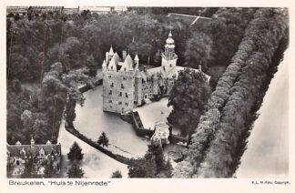Ansichtkaart Breukelen Kasteel Huis te Nijenrode 1927 KLM Luchtfoto 27-98 HC2667