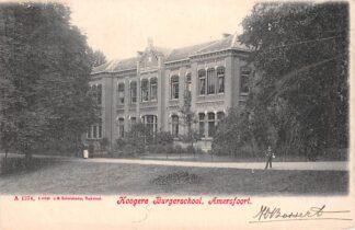 Ansichtkaart Amersfoort Hoogere Burger school 1905 HC2680
