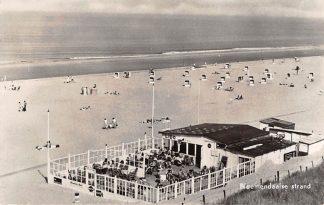 Ansichtkaart Bloemendaal Bloemendaalse strand met Strandtent Lido zee 1959 HC2684