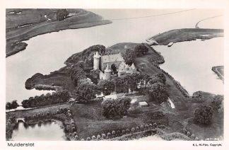 Ansichtkaart Muiden Muiderslot 1927 KLM Luchtfoto 27-92 HC2723