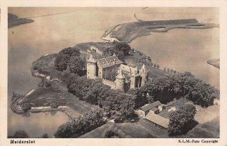 Ansichtkaart Muiden Muiderslot 1926 KLM Luchtfoto HC2724