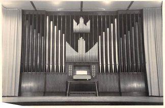 Ansichtkaart Huizen Fotokaart Orgel Visnet Dienstgebouw Ned. Hervormde Gemeente HC2744