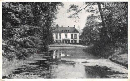 Ansichtkaart Heiloo Huize Nijenburg 1950 HC2751