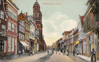 Ansichtkaart Hoorn Groote Noord 1912 HC2760