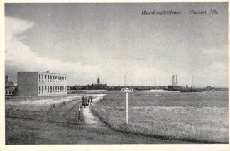 Ansichtkaart Huizen Huishoud school HC2764
