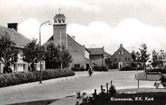 Ansichtkaart Krommenie R.K. Kerk 1963 HC2766