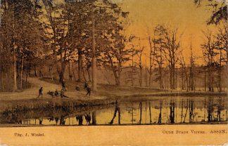 Ansichtkaart Assen Oude Stads Vijver 1906 Tulp HC2773