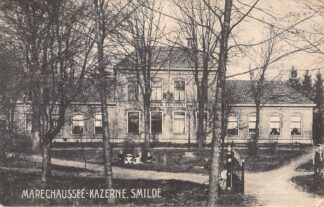 Ansichtkaart Smilde Marechaussee Kazerne 1919 HC2776