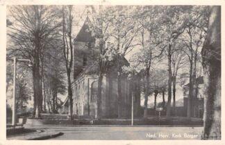 Ansichtkaart Borger Ned. Hervormde Kerk HC2780
