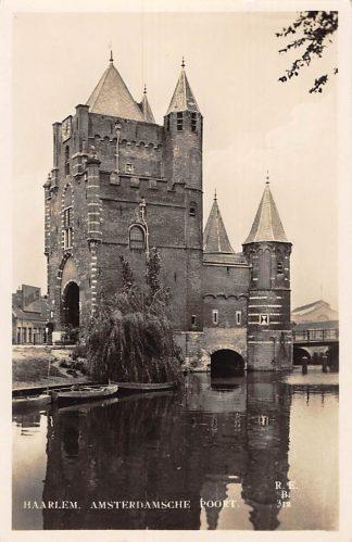 Ansichtkaart Haarlem Type fotokaart Amsterdamsche Poort 1932 HC2784